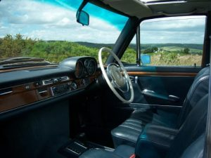 Front restored interior view of JMO 9K