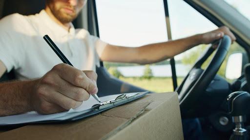 Automotive courier parts service